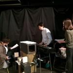 音楽の林絵理先生のピアノで コーラスの練習開始!